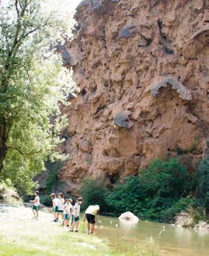 Excursión al Salto de la Novia (Navajas)