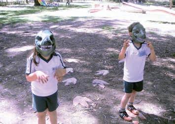 Juego infantil Los dinosaurios