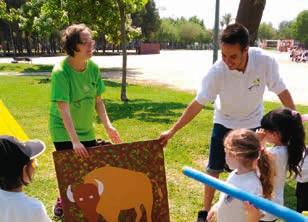 Actividad infantil sobre La prehistoria